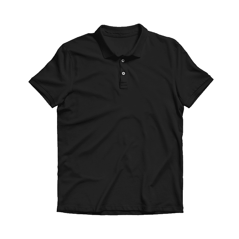 print on demand made in USA polo