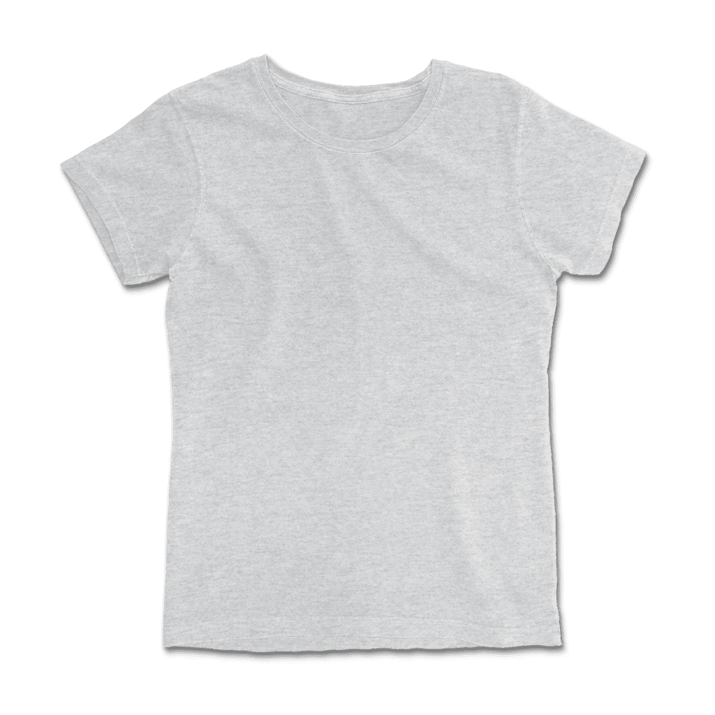 print on demand made in USA fitted t-shirt