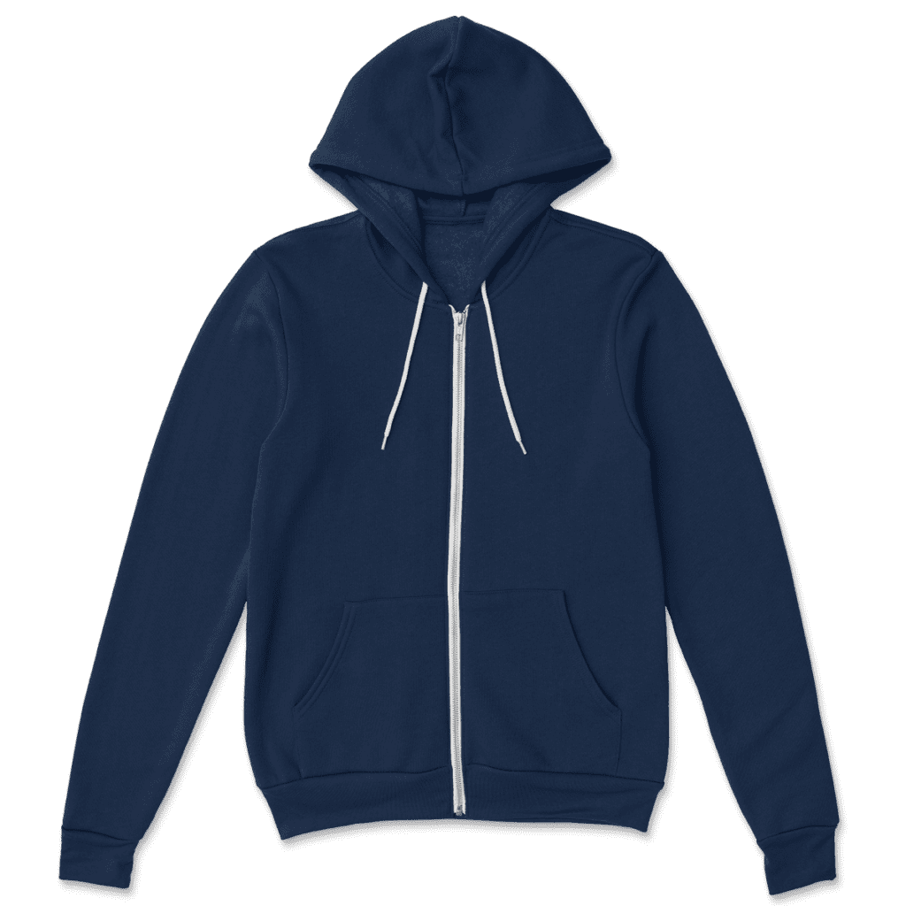 print on demand made in USA hoodie